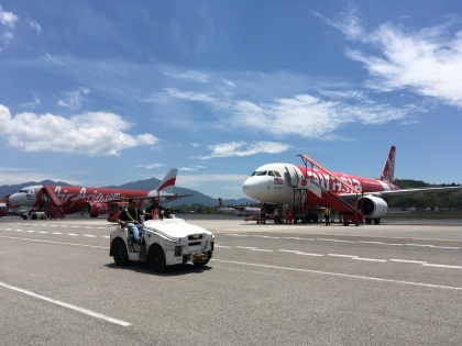 Air Asia Aircrafts Budget Airline Malaysia