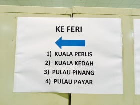 Fähren Langkawi Kuah nach Kuala Perlis / Kedah, Palau Pinang / Payar
