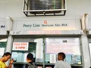 Fähren Ticket Verkauf Kuah Langkawi Kuala Kedah Malaysia