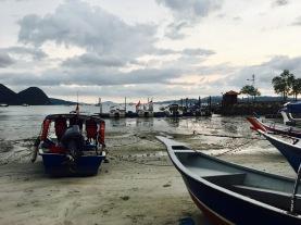 Hafen Ausflugsboote Kuah Langkawi Malaysia