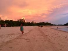 Sonnenuntergang Nannette Neubauer Malaysia Insel