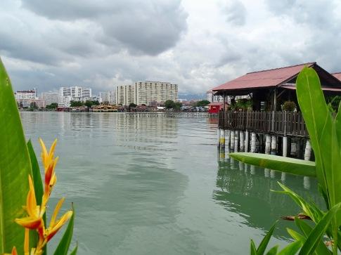 Chew Jetty Georgetown Penang Malaysia Exkursion