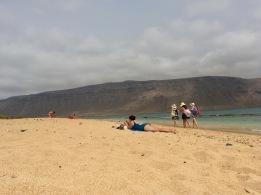 Erfahrungen Beach La Graciosa Kanaren