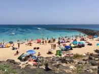 Playa Dorada Strand Playa Blanca Lanzarote