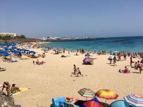 Beach Lanzarote Auslandspraktikum