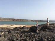 Besuch Las Salinas - Salzgewinnungsanlage Lanzarote