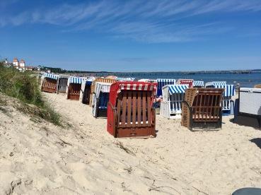 Strandkörbe Ostsee Insel Rügen Praktikum Ales Consulting International