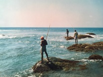 Sri Lanka Angeln im Indischen Ozean