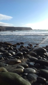 Fuerteventura einsamer Strand Auslandspraktikum