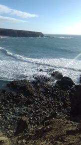 Fuerteventura schwarzer Strand Exkursion