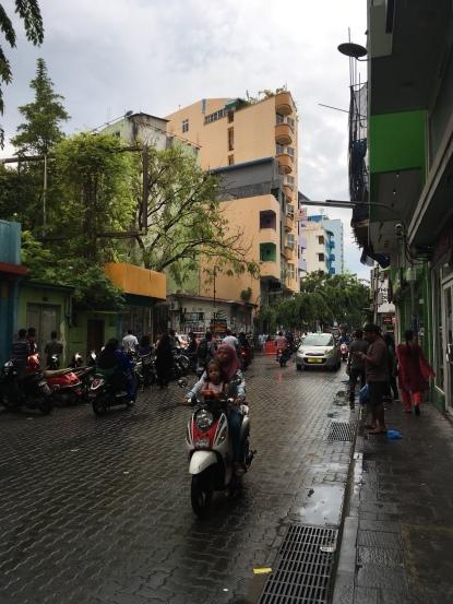 Male City Street Life
