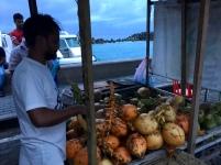 Malediven Kokosnüsse
