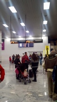Flughafen Cancun Ankunft