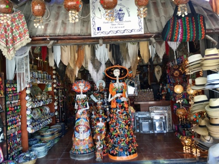 Souvenir Shopping in Mexiko Tulum