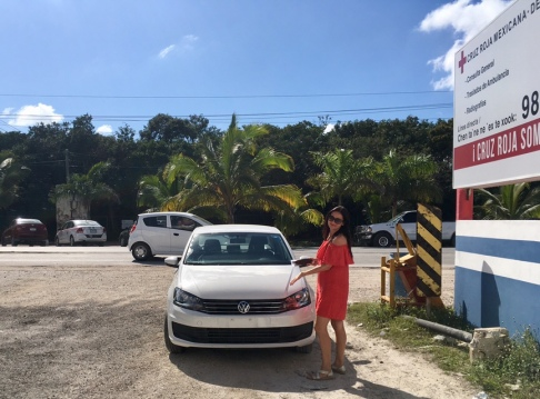 Fehlendes Nummernschild in Mexiko - Falsch geparkt