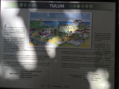 Tulum Mexiko Geschichte der Maya Ruinen