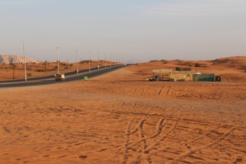 Dubai Wüste Erfahrung Praktikum