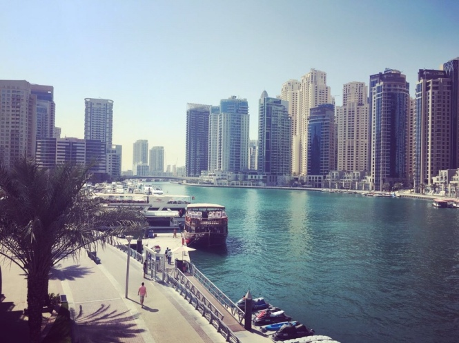 Praktikum Dubai Marina