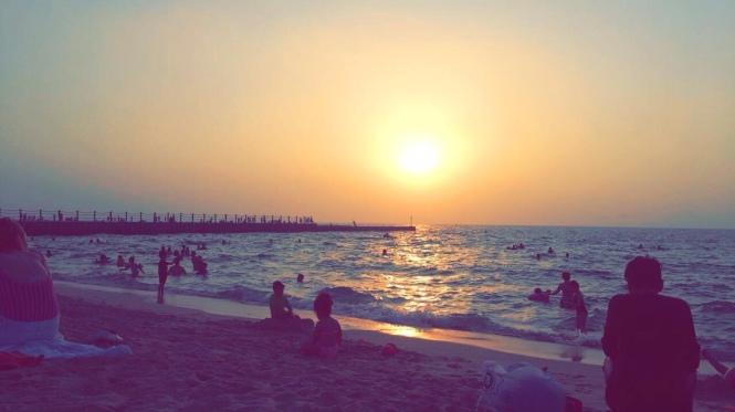 Dubai Strand Erfahrung