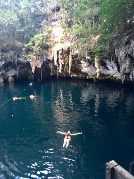 Schwimmen in der Cenote - Mexiko Erfahrungen