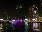 Dubai bei Nacht / Bootstour Ales Consulting International