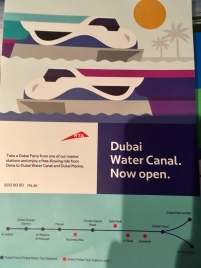 Dubai Ferry Route