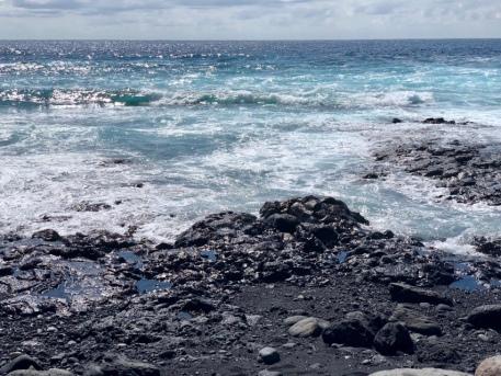 Lava und Meer Lanzarote Kanaren