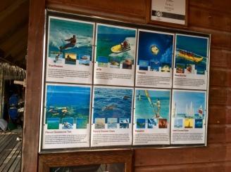Exkursionen / Aktivitäten Malediven