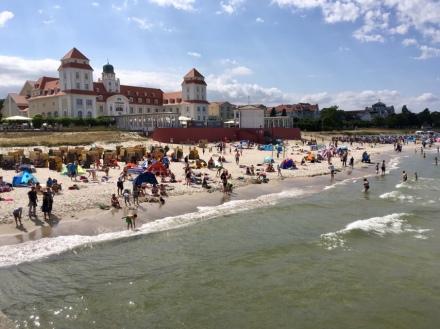 Strand Binz auf Rügen Praktikum Ales Consulting International