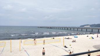 Beachvolleyball Binz auf Rügen