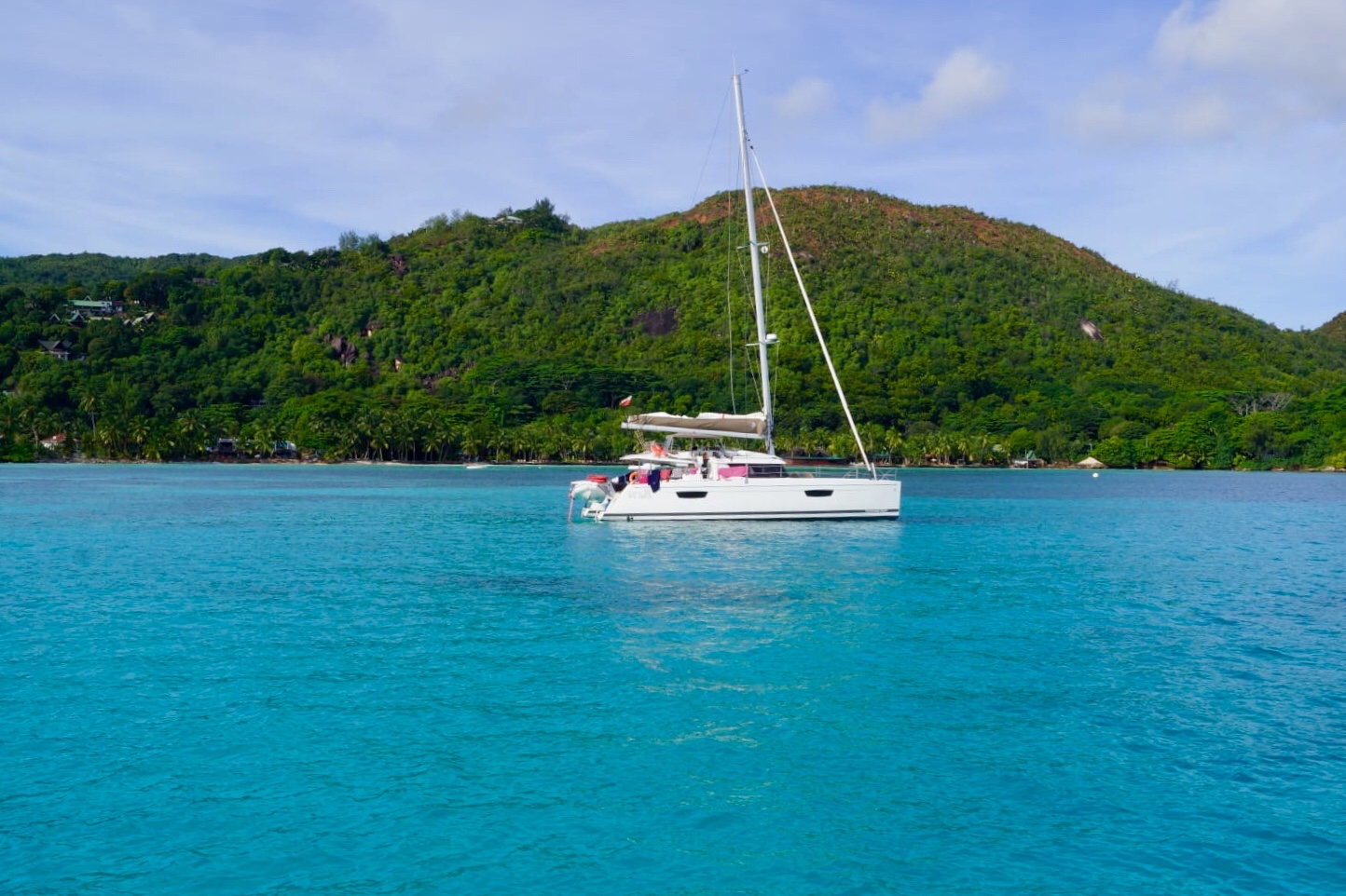 Seychellen Exkursion mit dem Boot