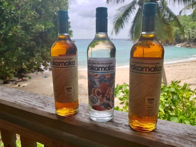 Seychellen Bar Praktikum - Takamaka Rum