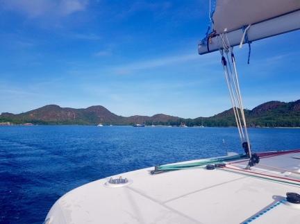 Seychellen Segeln