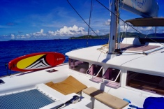 Catamaran Segeln Seychellen