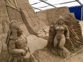 Sandskulpturen Festival Binz 2018