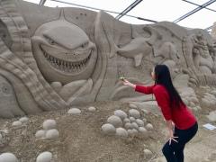 Sandskulpturenfestival Ostseebad Binz auf Rügen 2018 - super Erfahrung