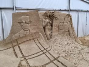 Kunstwerke aus Sand - Binz auf Rügen