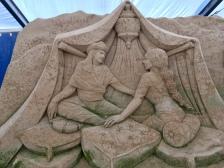 Internationale Impressionen - Sandskulpturenfestival Binz 2018