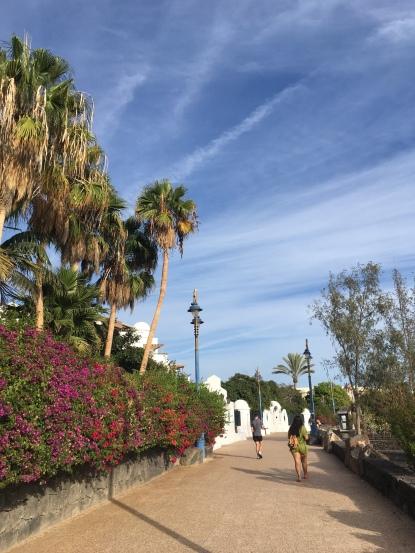 Promenade Playa Blanca Lanzarote