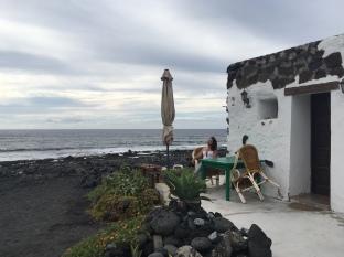 Traditionelle Fischerhütten am Meer - El Golfo Lanzarote