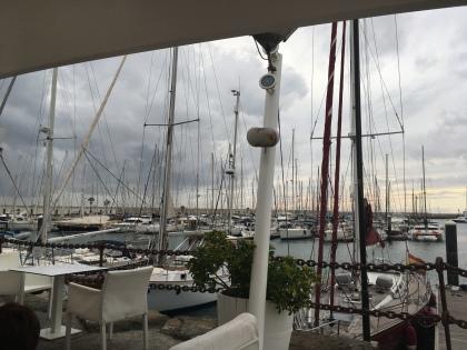 Marina Rubicon Playa Blanca - auch bei Regen schön