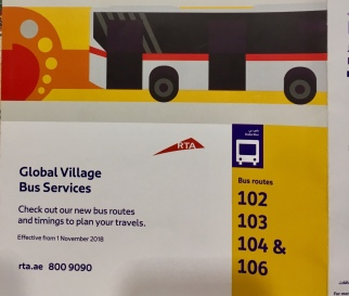 Global Village Bus Services Experiences