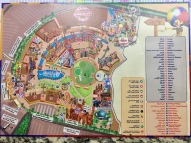 Plan Attraktionen im Global Village Dubai