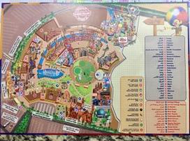 Plan Attraktionen im Global Village Dubai