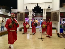 Traditionelle Show im Global Village Dubai