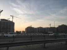 Dubai Bauarbeiten zur Expo