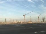 Baukräne in Dubai - Vorbereitung Expo 2020