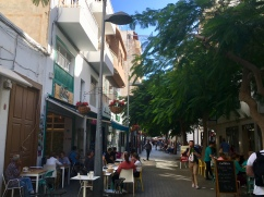 Main Shopping Street Capital of Lanzarote