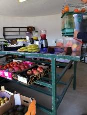 Frische Säfte und Gemüse - Sonntagsmarkt Tinajo Lanzarote