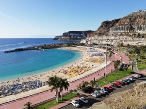 Playa Amadores - Praktikum Gran Canaria